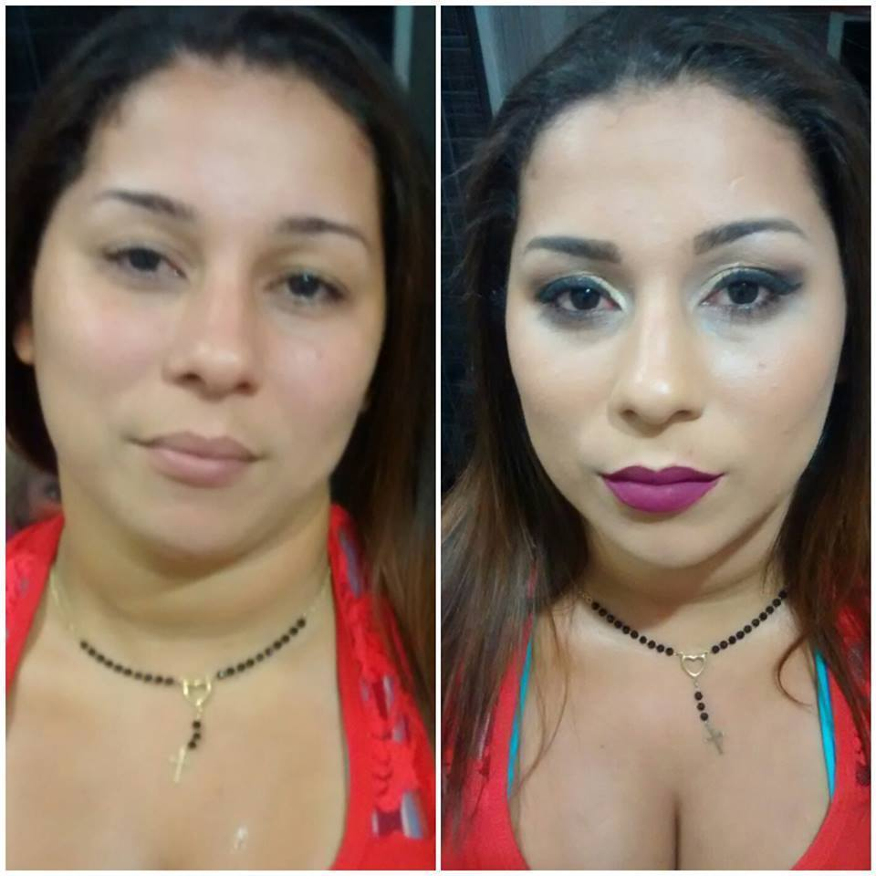 Maquiagem social para festa; maquiagem maquiador(a) recepcionista