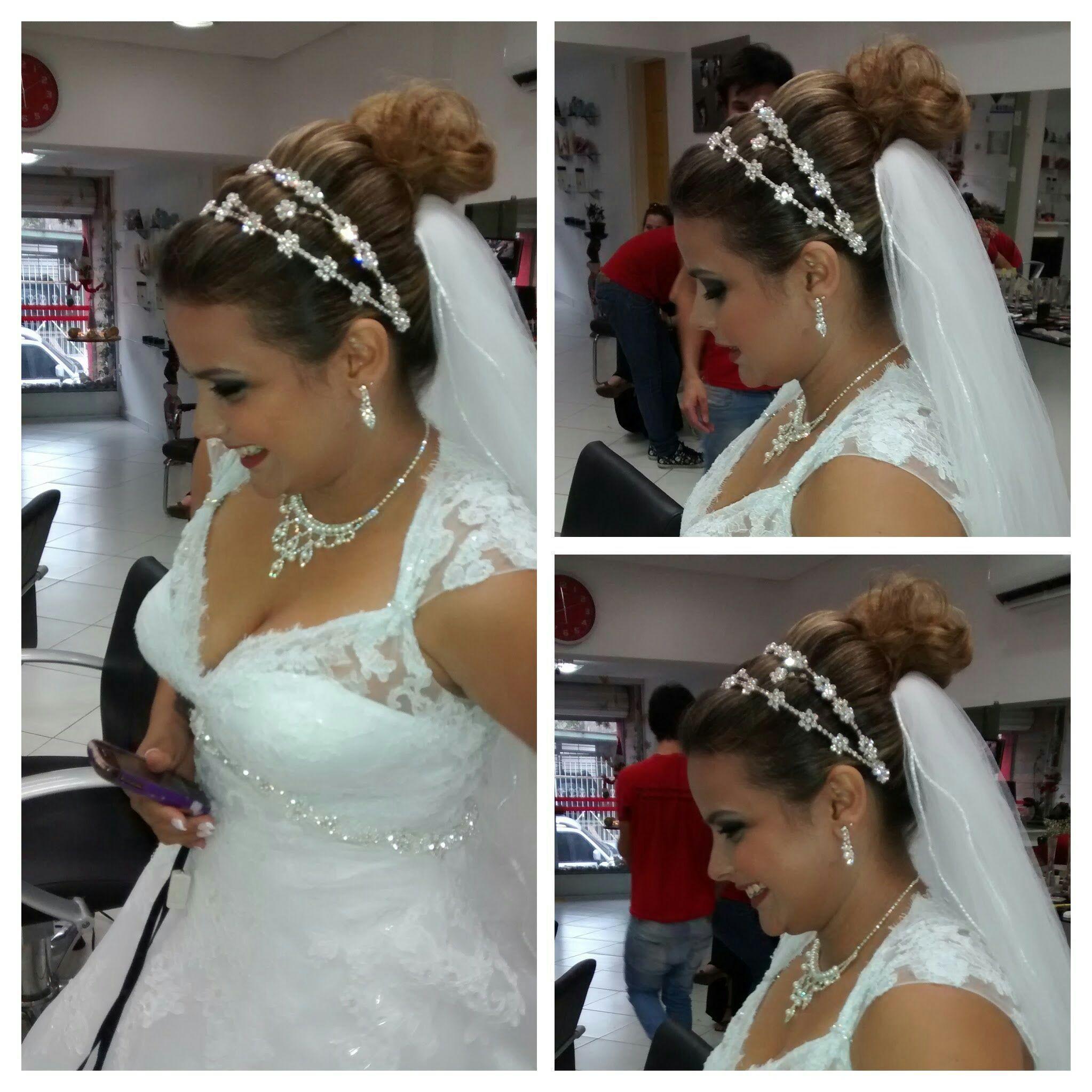 Penteado e make-up de noiva cabelo cabeleireiro(a) maquiador(a) stylist / visagista gerente