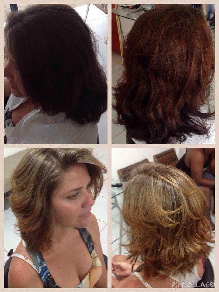 Tirando o vermelho desbotado e voltando a cor natural.. cabelo cabeleireiro(a) stylist / visagista auxiliar administrativo