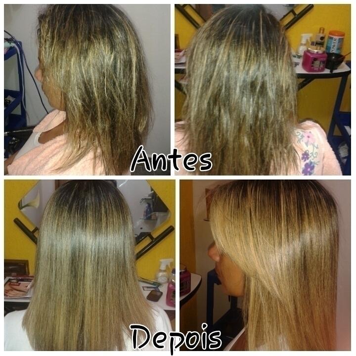Botox capilar. cabelo auxiliar cabeleireiro(a)