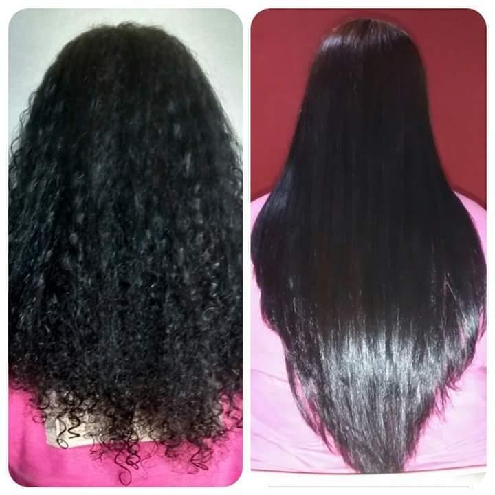 Progressiva cabelo manicure e pedicure