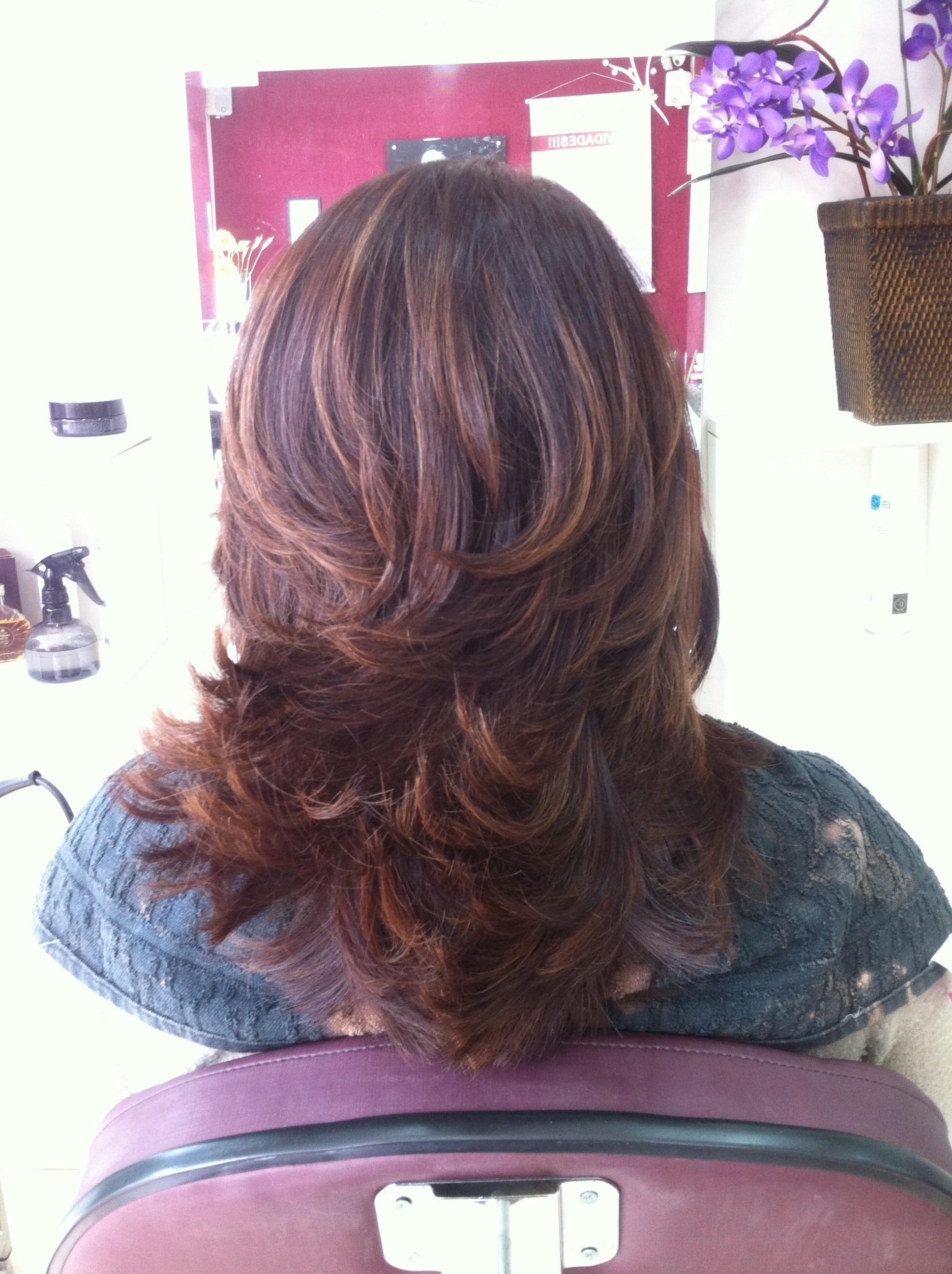 #iluminada #canelatostada #camadaselegantes cabelo stylist / visagista