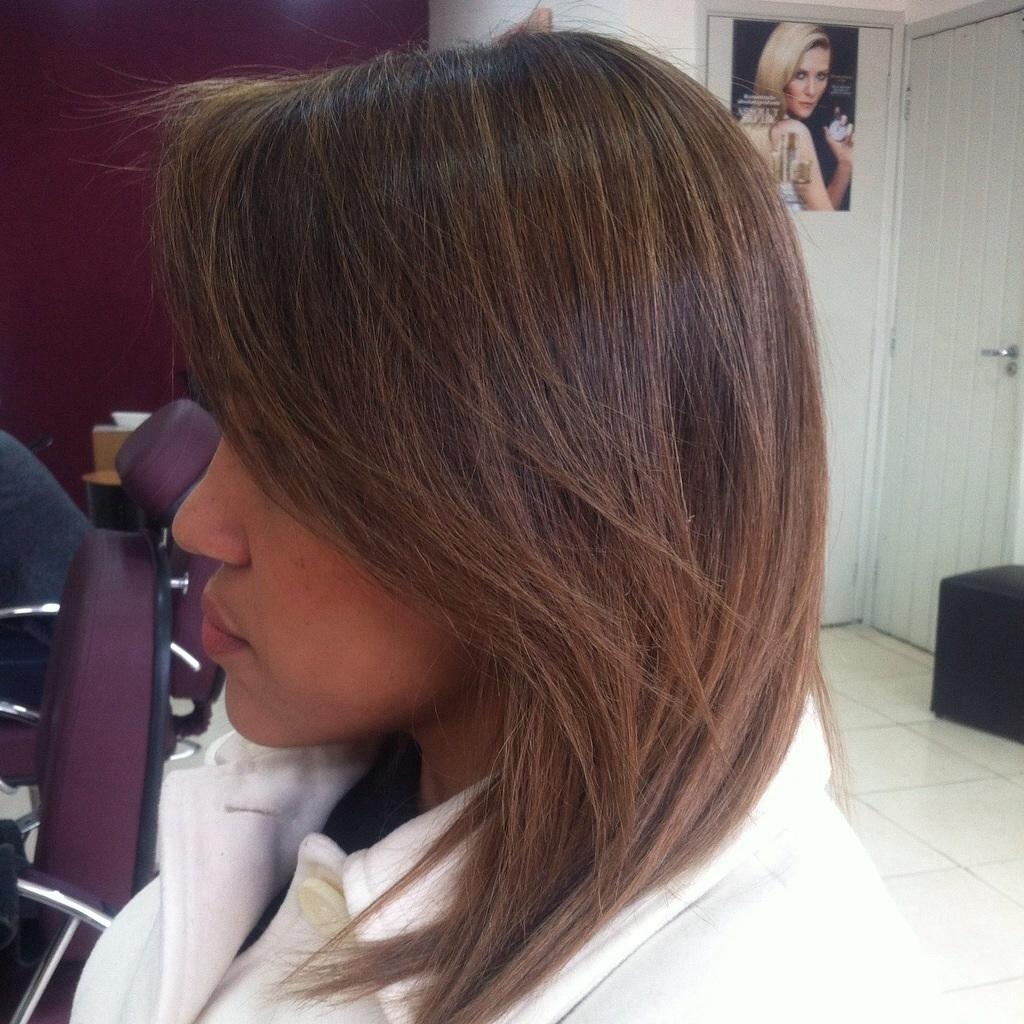 #ombre #marrom #longbob cabelo stylist / visagista