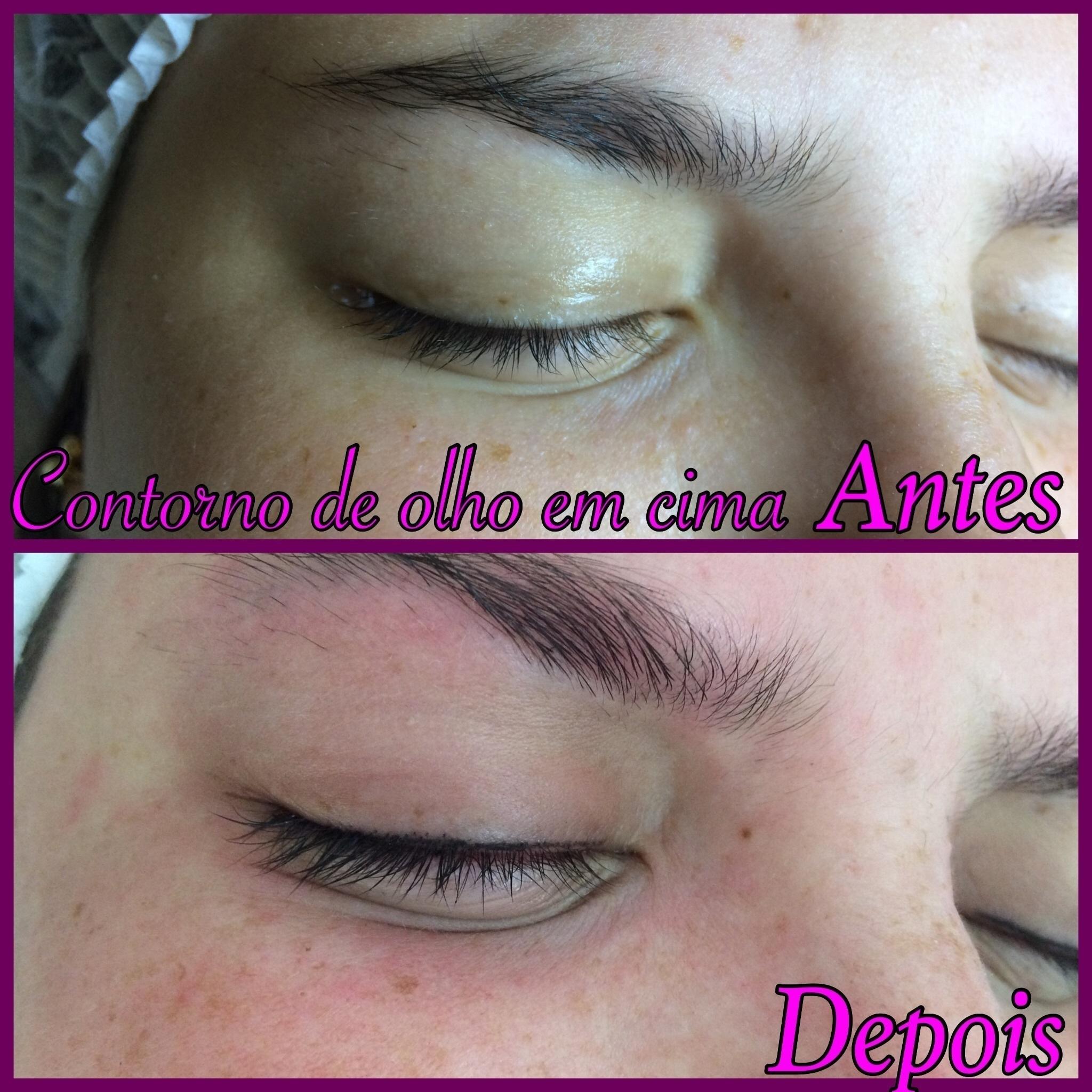 Micropigmentação contorno de olhos... outros designer de sobrancelhas esteticista depilador(a) micropigmentador(a)