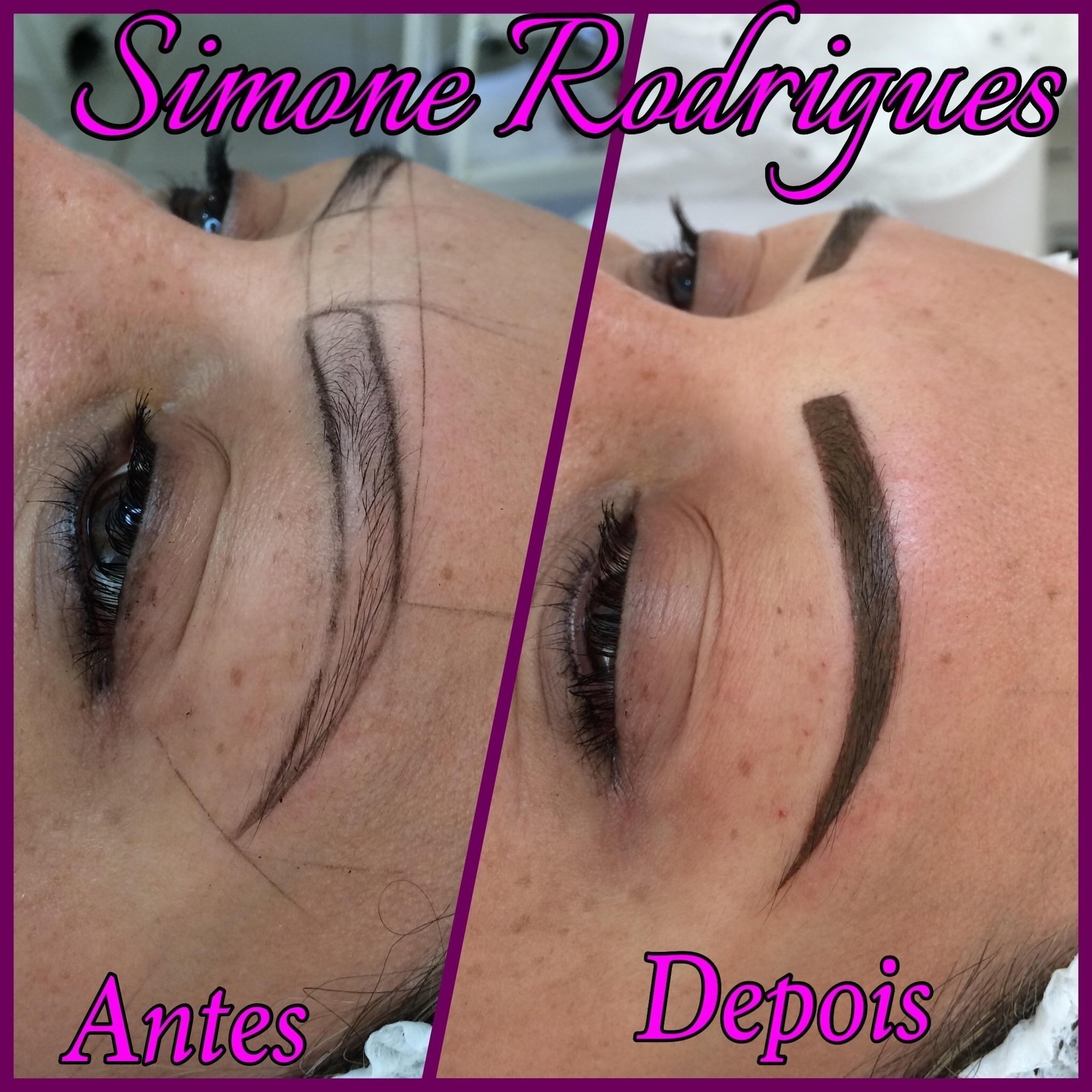 Micropientaçao de sobrancelhas maquiagem designer de sobrancelhas esteticista depilador(a) micropigmentador(a)