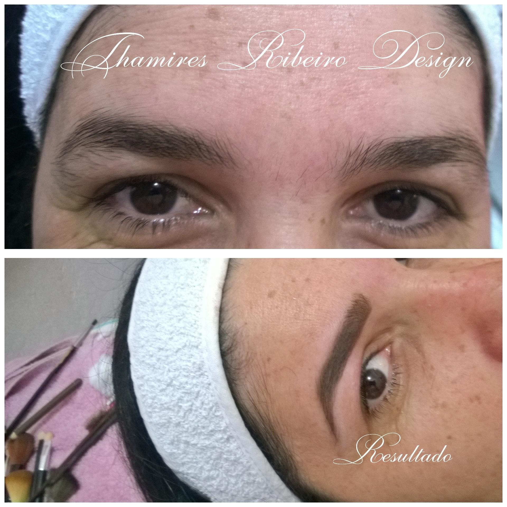 #Designdesobrancelhas #correção de falhas #camuflagem com $Maquiagem para sobrancelhas #linda ♡ estética manicure e pedicure designer de sobrancelhas