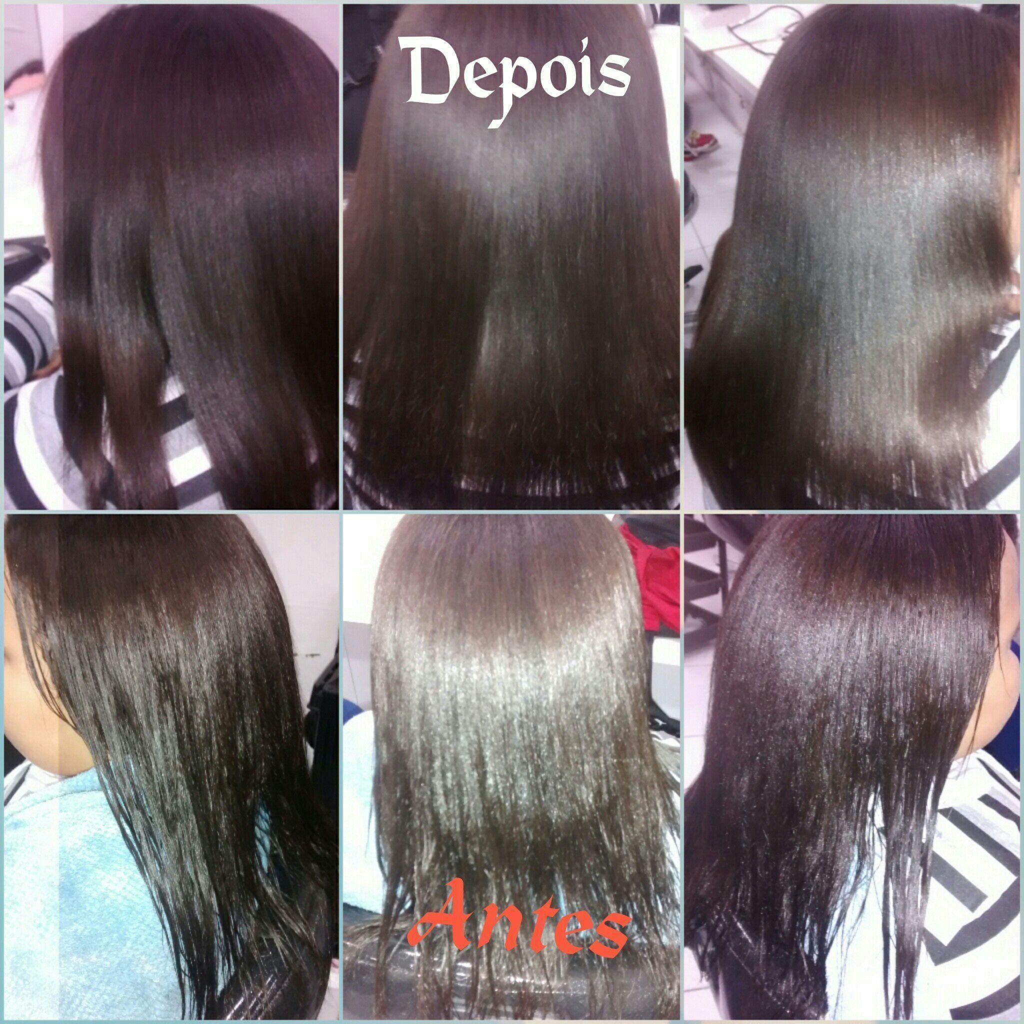 Reconstrução dos fios.... cabelo auxiliar administrativo auxiliar cabeleireiro(a) recepcionista
