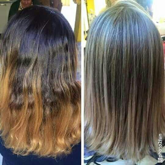 Correção de cor. Mechas seamless tonalizacao 10.1 cabelo auxiliar cabeleireiro(a) vendedor(a) manicure e pedicure
