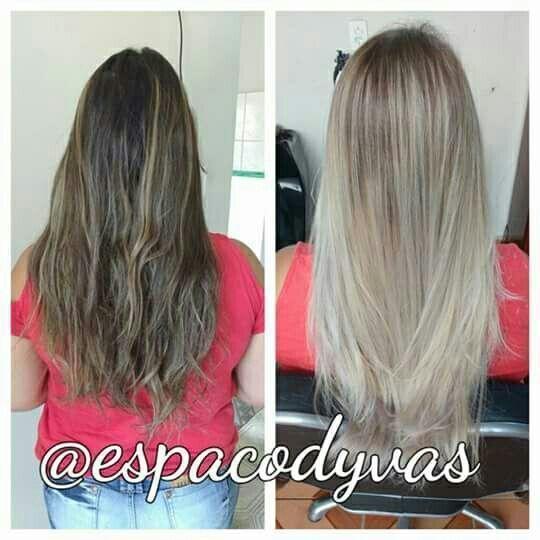 Fluid Hair painting tonalizado com 10.1 cabelo auxiliar cabeleireiro(a) vendedor(a) manicure e pedicure