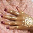 Maquiagem Artística - Pintura Mehndi Veja mais no meu Blog Vaidosas de Batom:  www.vaidosasdebatom.com