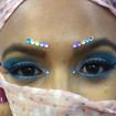 Maquiagem Artística - Noiva Indiana Veja mais no meu Blog Vaidosas de Batom:  www.vaidosasdebatom.com