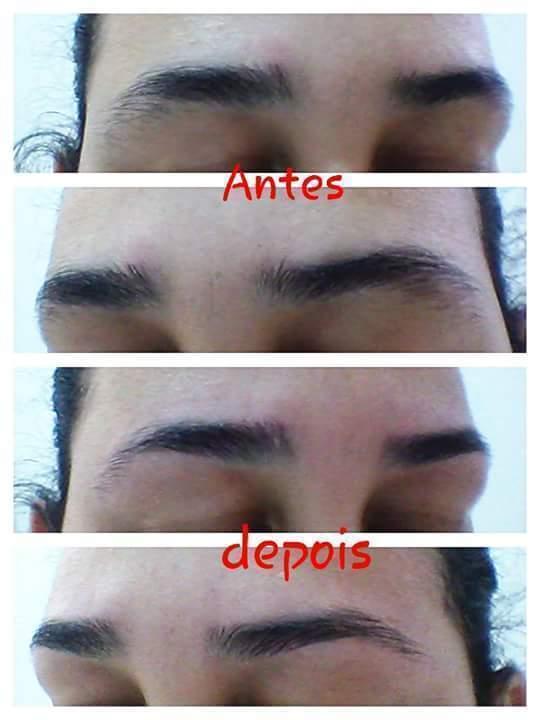 Limpeza de sobrancelha #euquefiz #emmimmesma #napinça estética depilador(a)