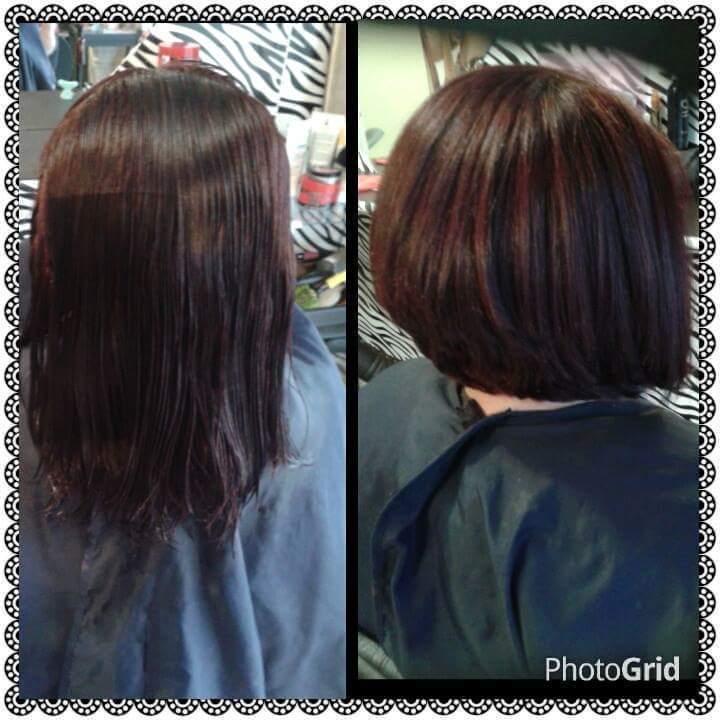 Corte cabelo auxiliar cabeleireiro(a) designer de sobrancelhas recepcionista