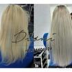 Mega feito com polímeros queratina #megahaircuritiba #dionimegahairestylist #longhair #omelhor #loira #blonde #megahair #hair #especialista #omelhor #blond #curitiba #aplique #tophair #megahair