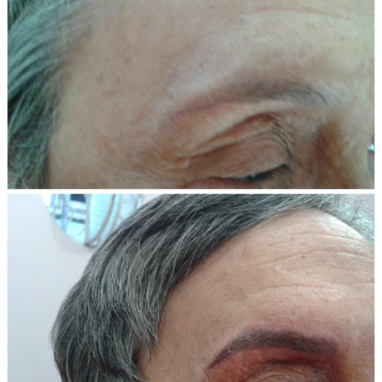 maquiagem cabeleireiro(a) dermopigmentador(a) designer de sobrancelhas