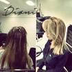 Olhem essa mudanca que top! #dionimegahairestylist #mechascriativas #raizesfumada #mechas #ombre #morenasiluminada #curitiba #cabelos #batel #shopping #omelhor #coloração #cor