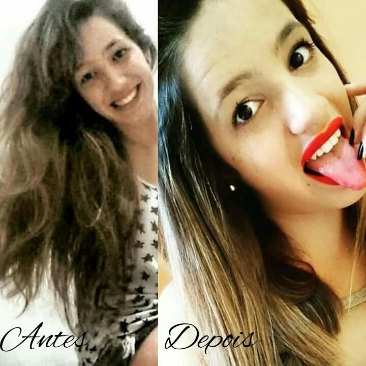 #corte #antesedepois cabelo cabeleireiro(a) auxiliar cabeleireiro(a) manicure e pedicure depilador(a) cabeleireiro(a)