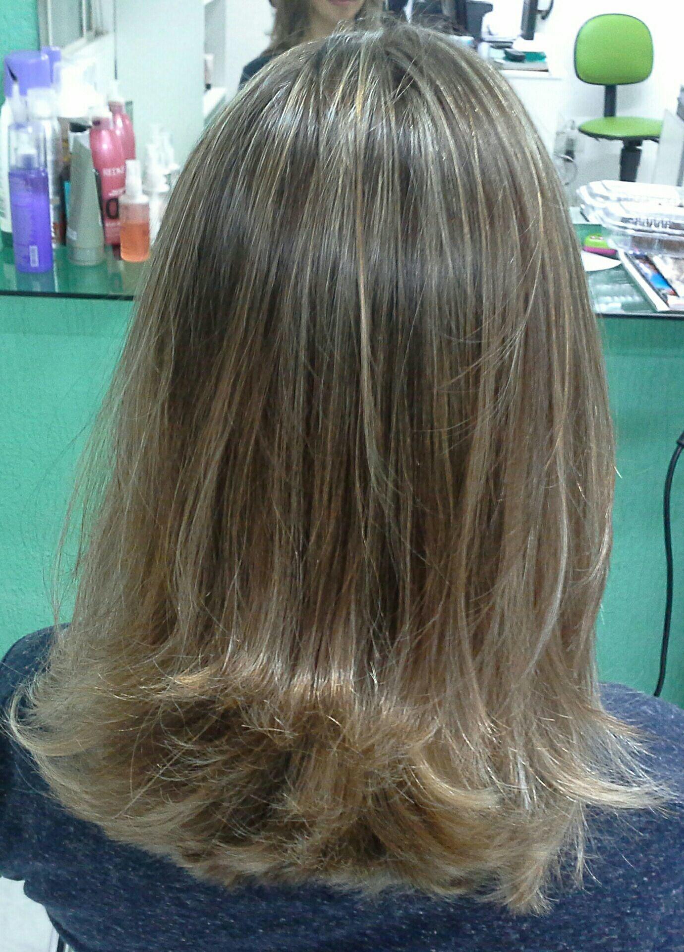 Corte long bob  e ombre hair  Veravisagista  São Paulo cabelo stylist / visagista cabeleireiro(a)