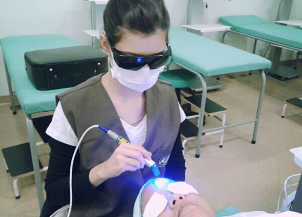 #ledazul estética esteticista recepcionista designer de sobrancelhas maquiador(a)