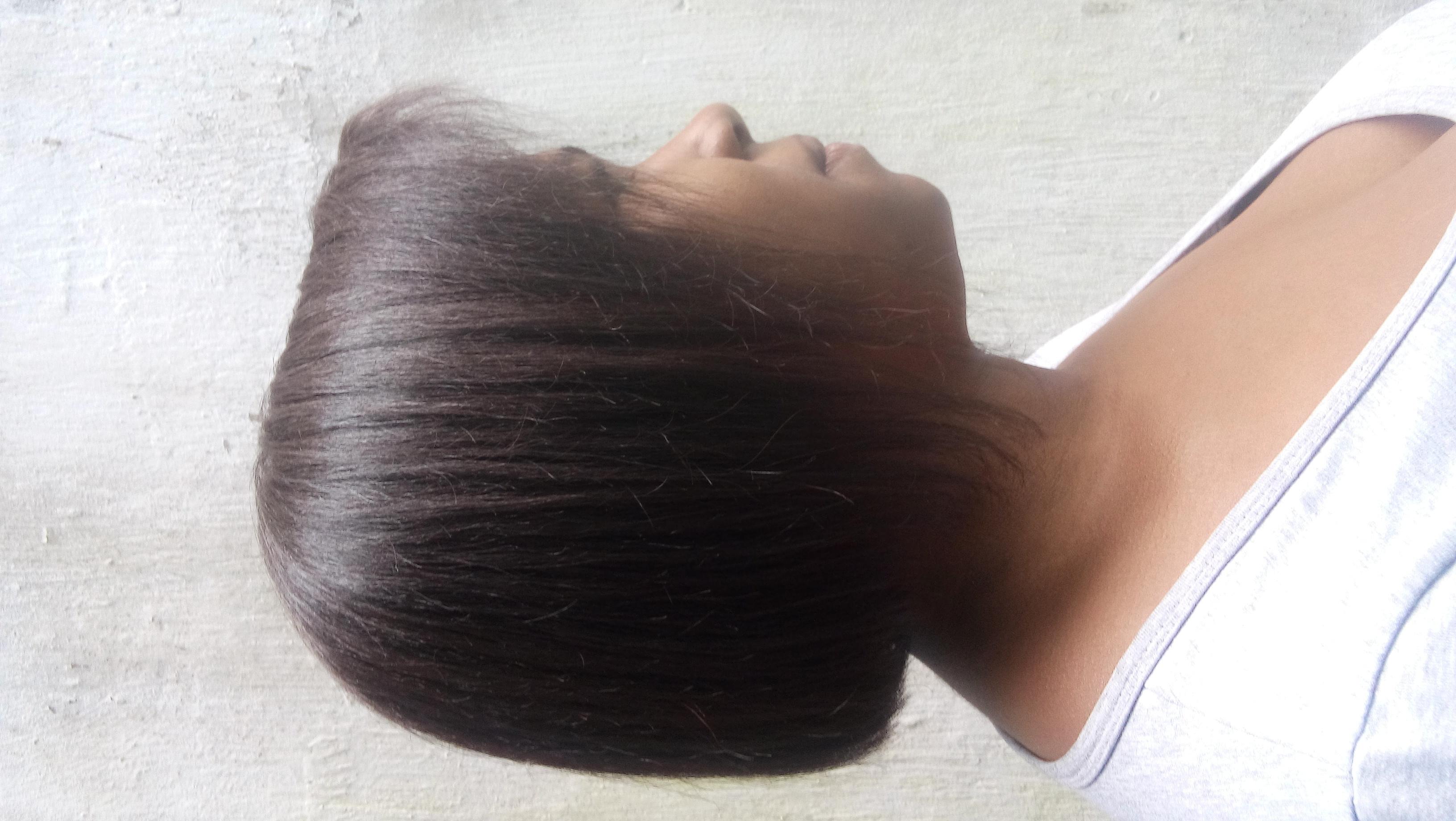 Resultado após aplicação de relaxamento com guanidina. cabelo cabeleireiro(a)