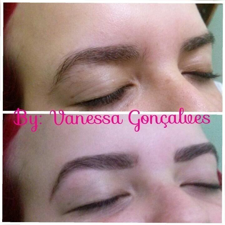 Designer de sobrancelhas  estética esteticista maquiador(a) designer de sobrancelhas
