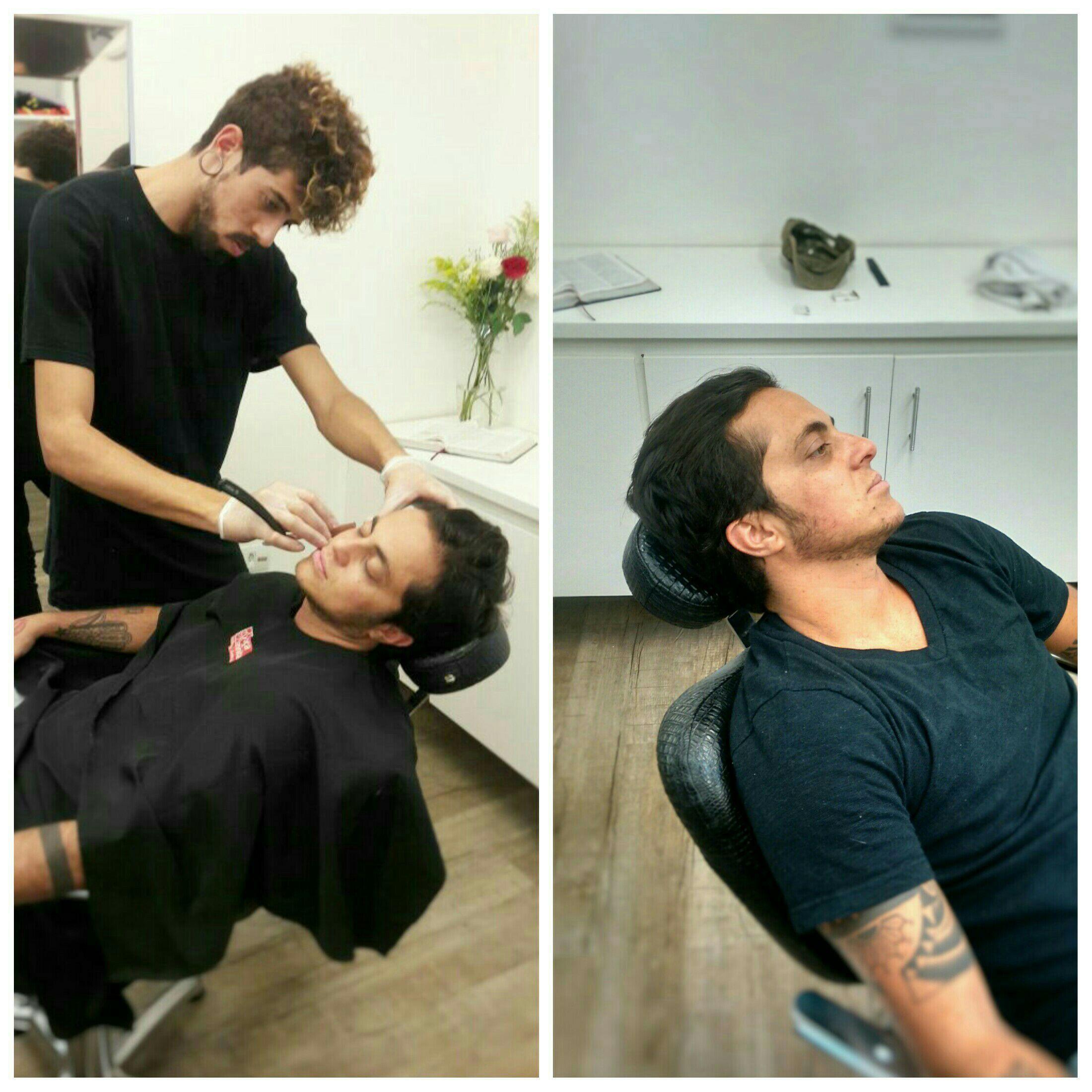 #Barber #ThamyMiranda outros estudante (visagista) cabeleireiro(a)