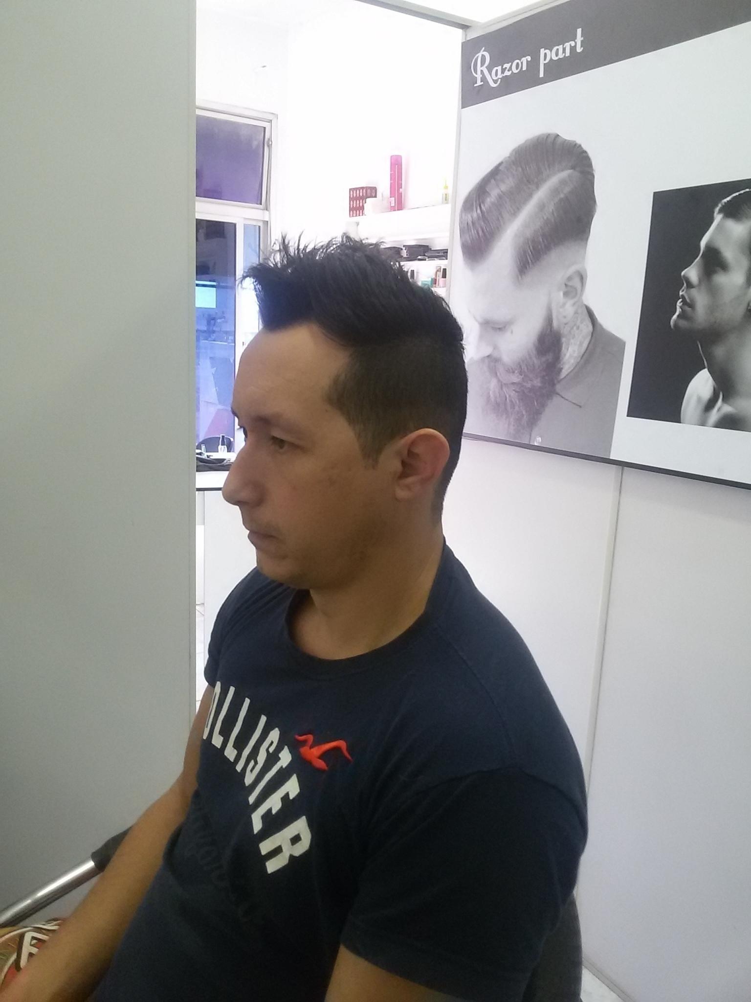 Corte masculino  cabelo cabeleireiro(a)