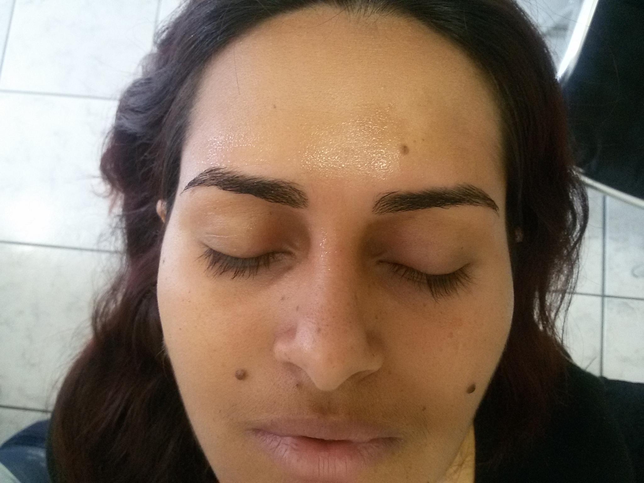 Após designer a pele descansa com gel a calmante de camomila  outros cabeleireiro(a)
