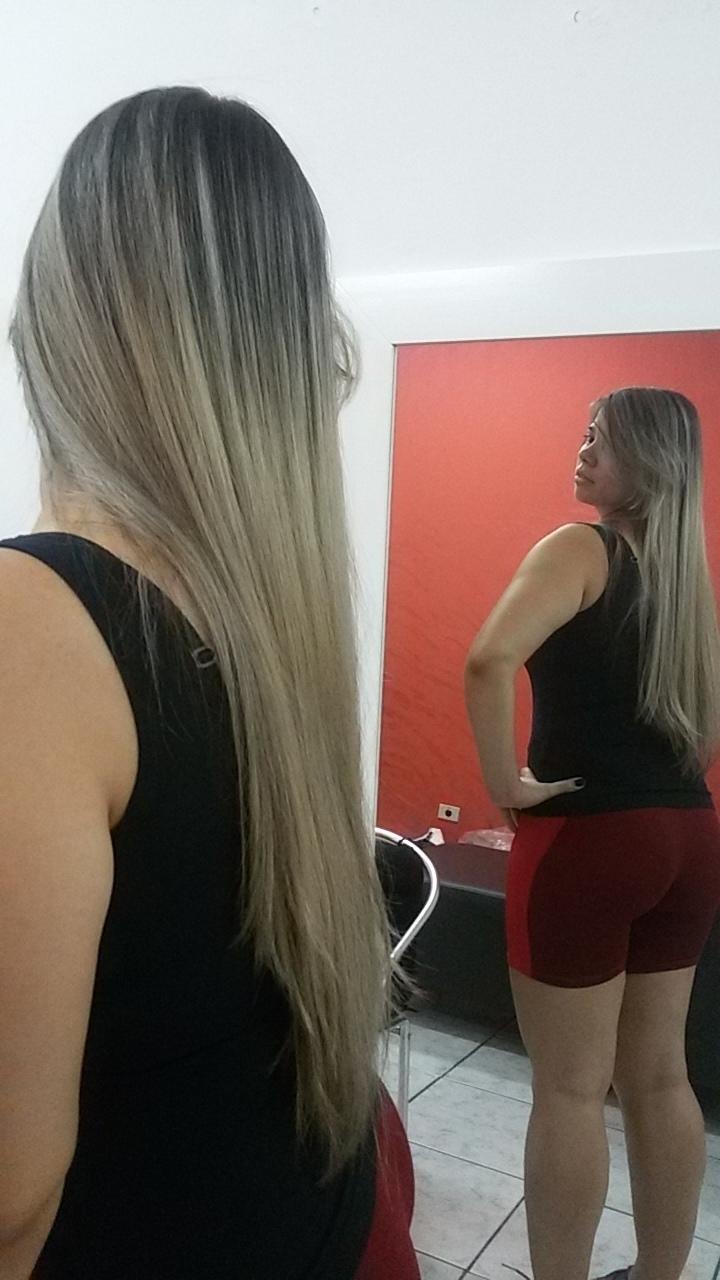 Luzes  cabelo cabeleireiro(a)
