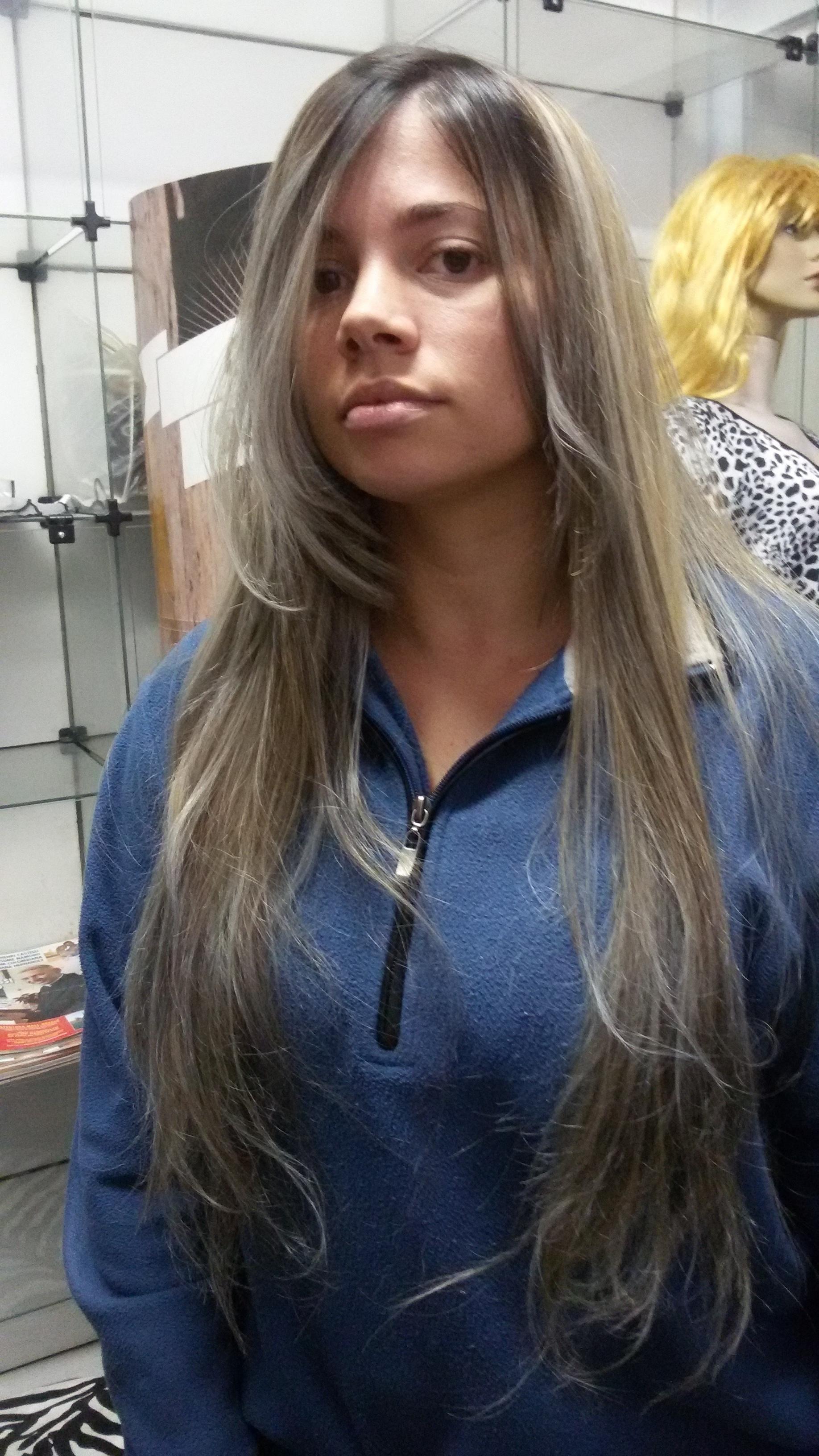 Hidratação com uma leve matizada  cabelo cabeleireiro(a)