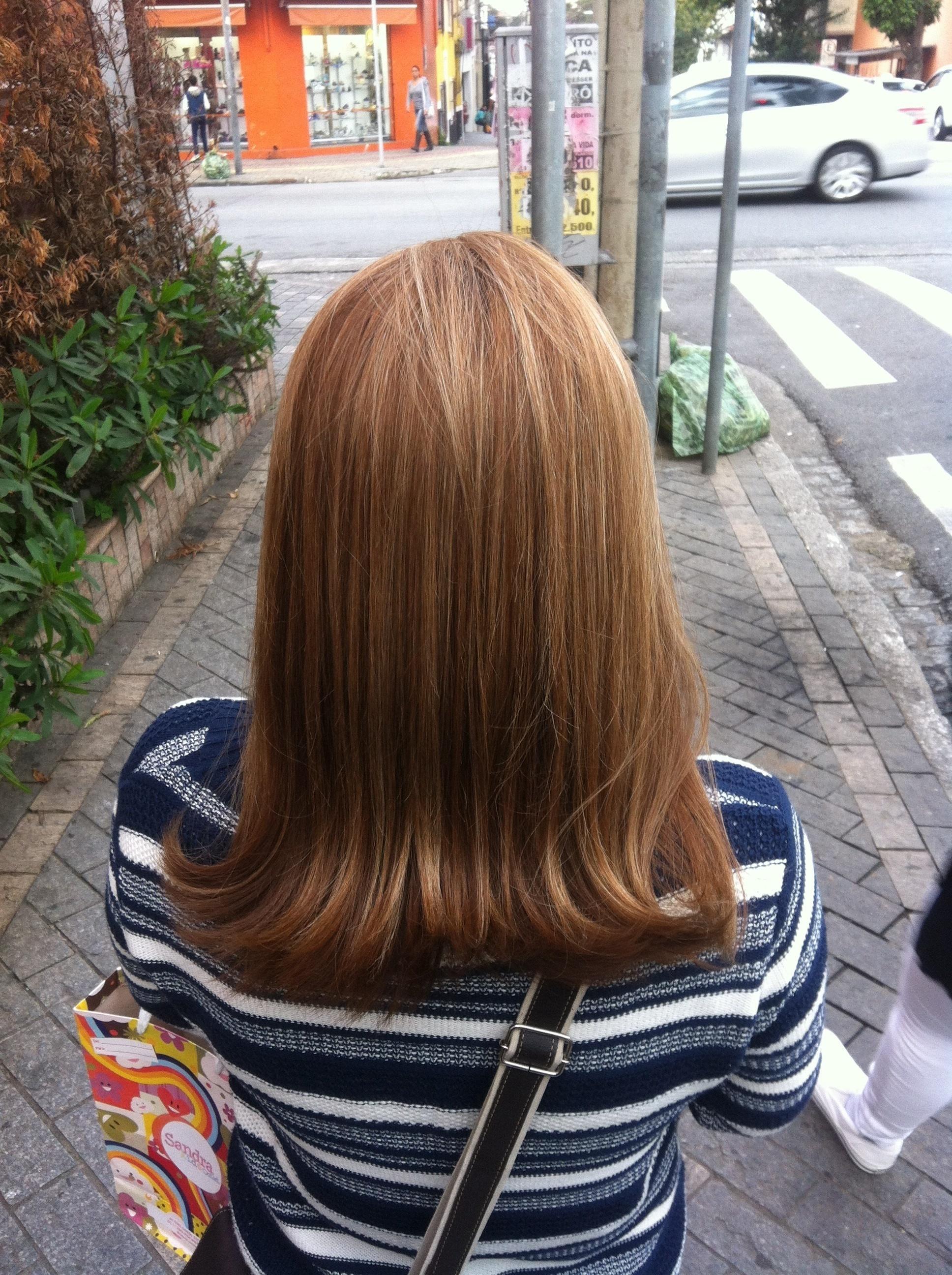 Mechas # iluminada  cabelo cabeleireiro(a) auxiliar cabeleireiro(a)