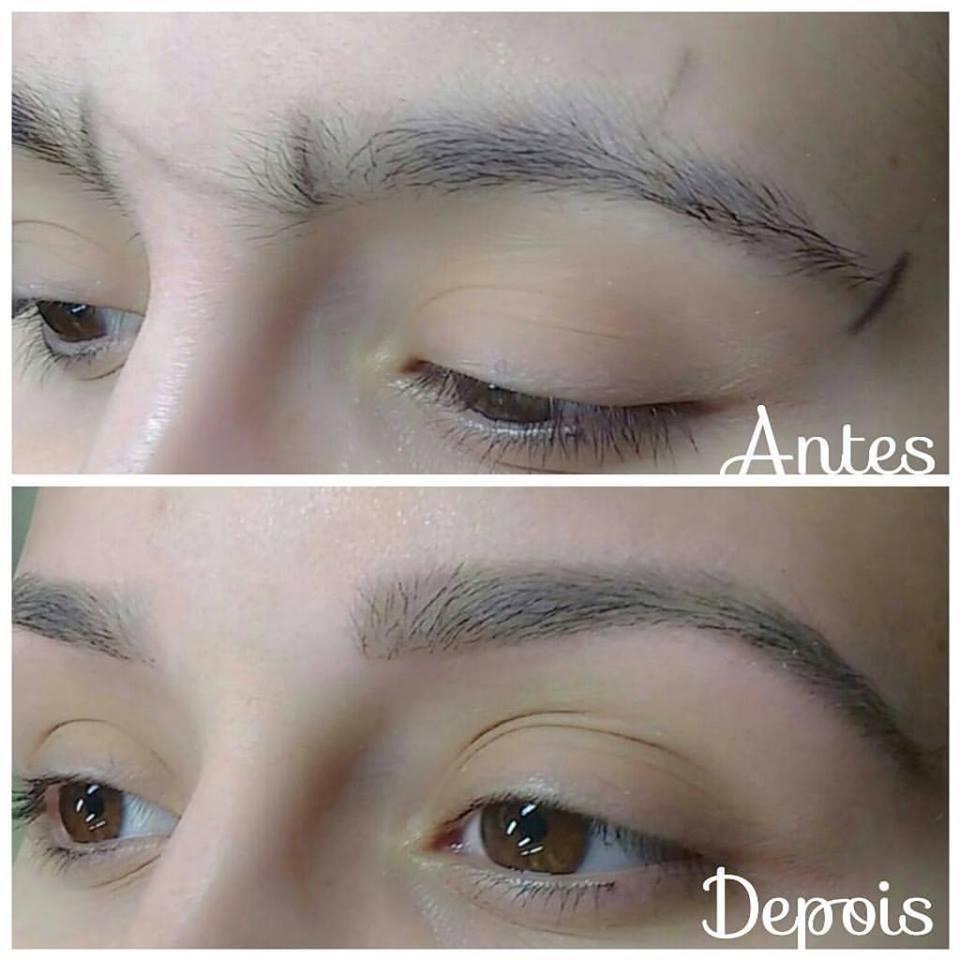 #designerdesobrancelha antes e depois outros cabeleireiro(a) designer de sobrancelhas