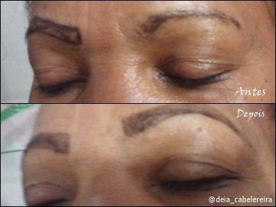 designer com henna  Antes e depois #designerdesobrancelha #designerandrea estética cabeleireiro(a) designer de sobrancelhas