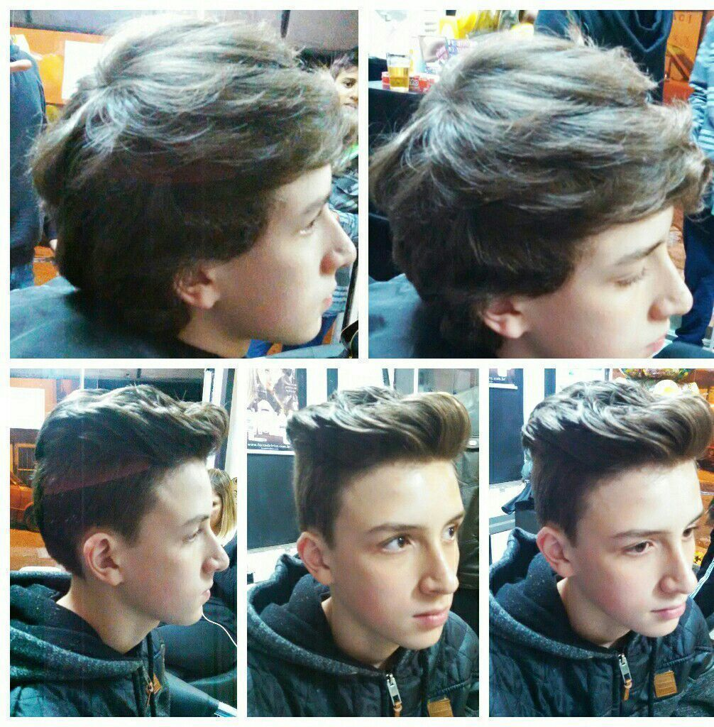 Corte na tesoura cabelo cabeleireiro(a) auxiliar cabeleireiro(a) barbeiro(a)