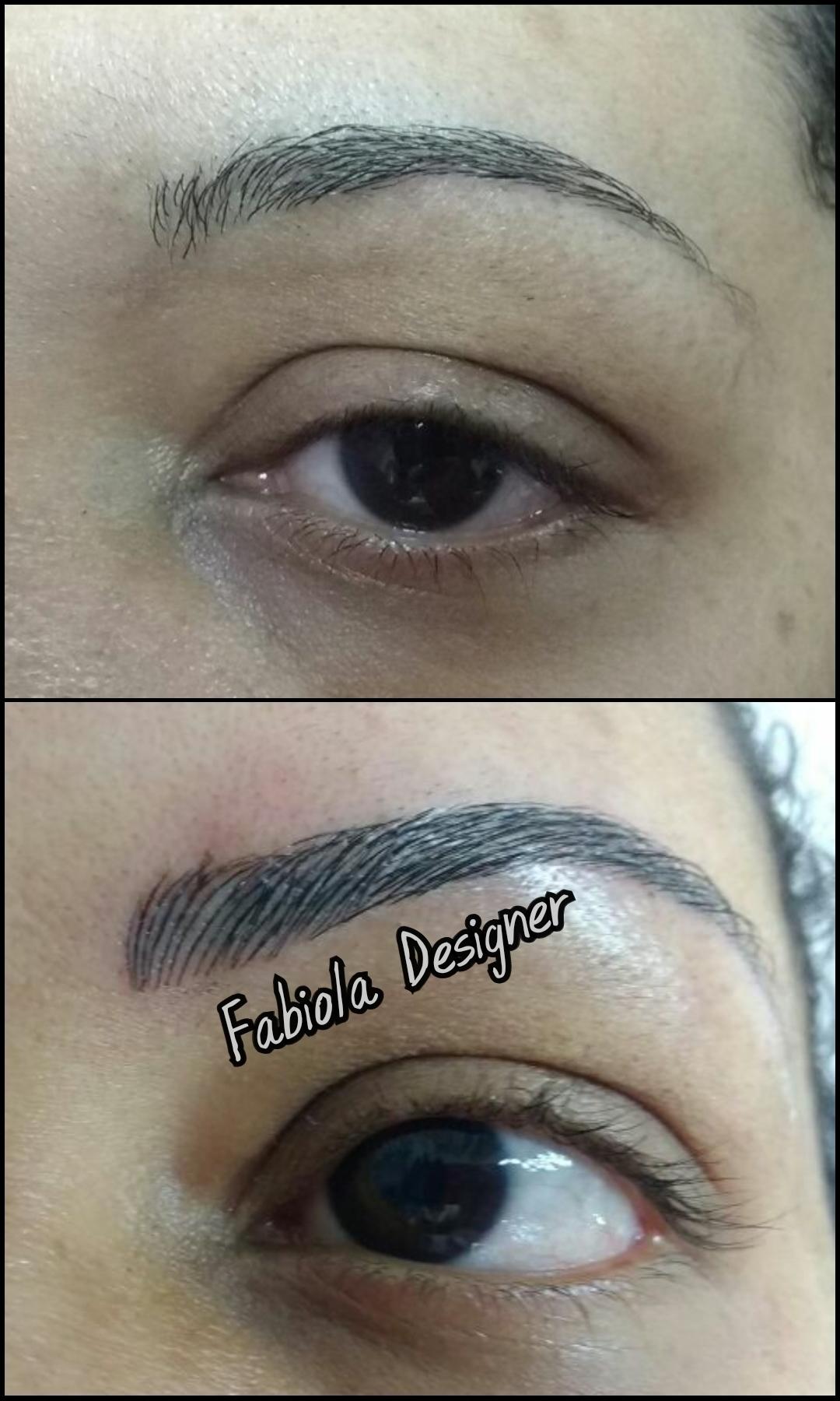 Microblading estética micropigmentador(a) designer de sobrancelhas depilador(a)