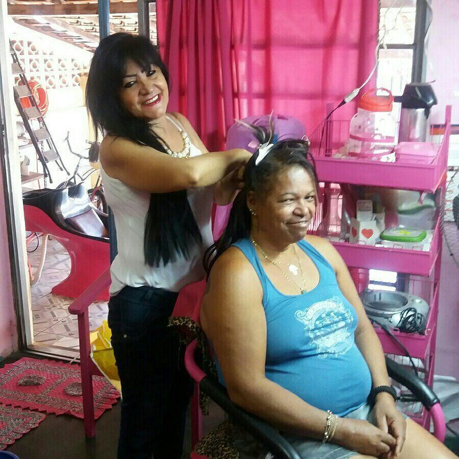 Mega Hair, com minha linda cliente Denise cabelo cabeleireiro(a)