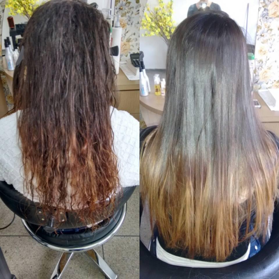 Progressiva cabelo cabeleireiro(a)