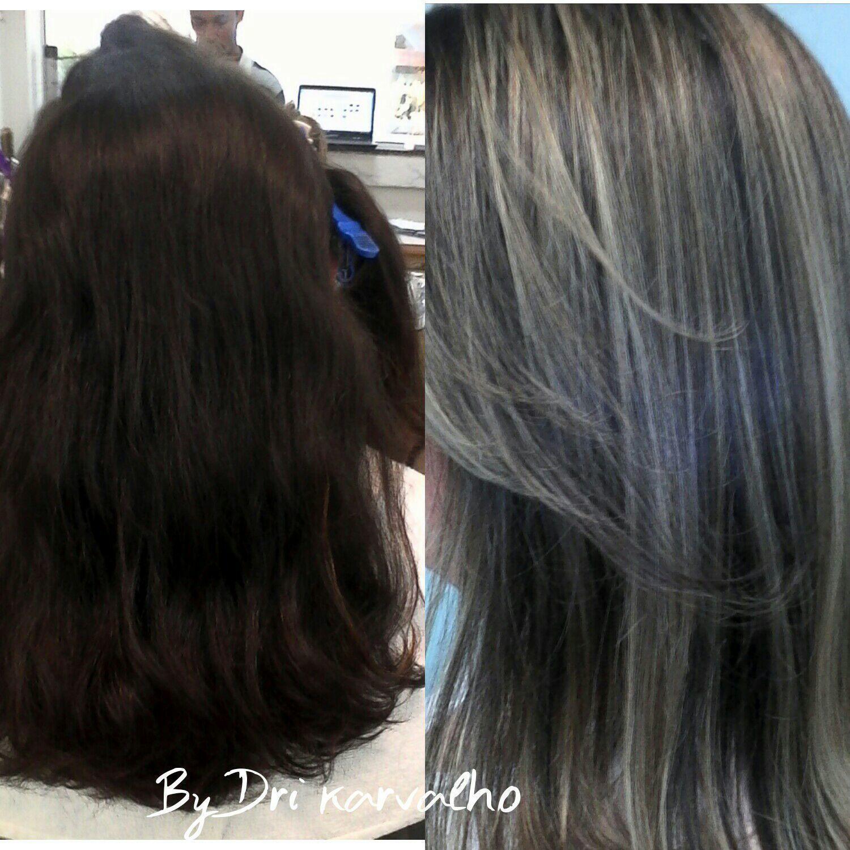 Mechas acizentadas em cabelo natural. cabelo cabeleireiro(a) designer de sobrancelhas cabeleireiro(a) cabeleireiro(a) cabeleireiro(a)