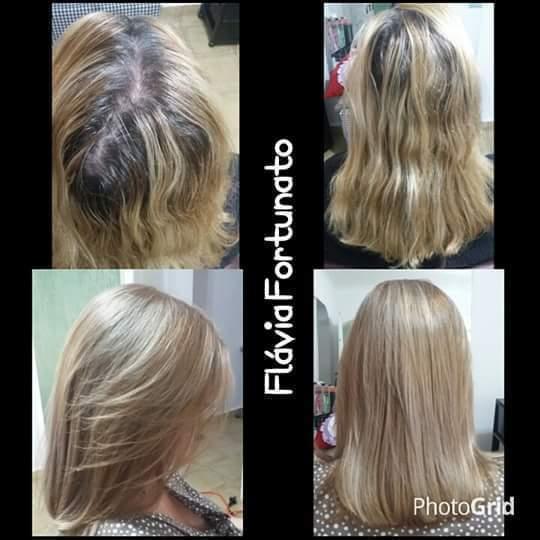 coloração e botox cabelo cabeleireiro(a)