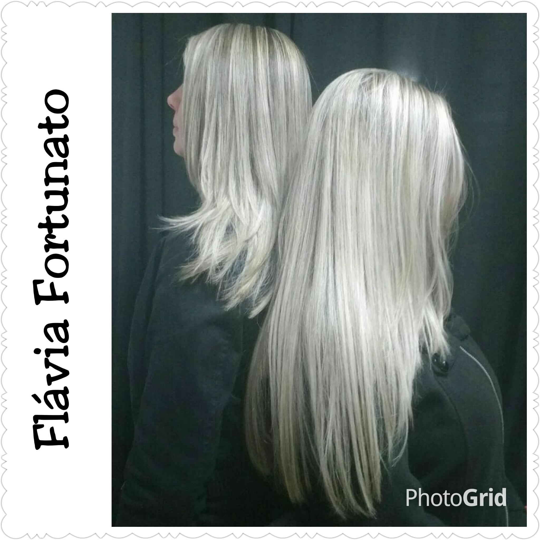 progressiva para loiras cabeleireiro(a)
