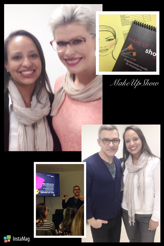 Participação do WorkSop MakeBe Boticario maquiagem maquiador(a) designer de sobrancelhas