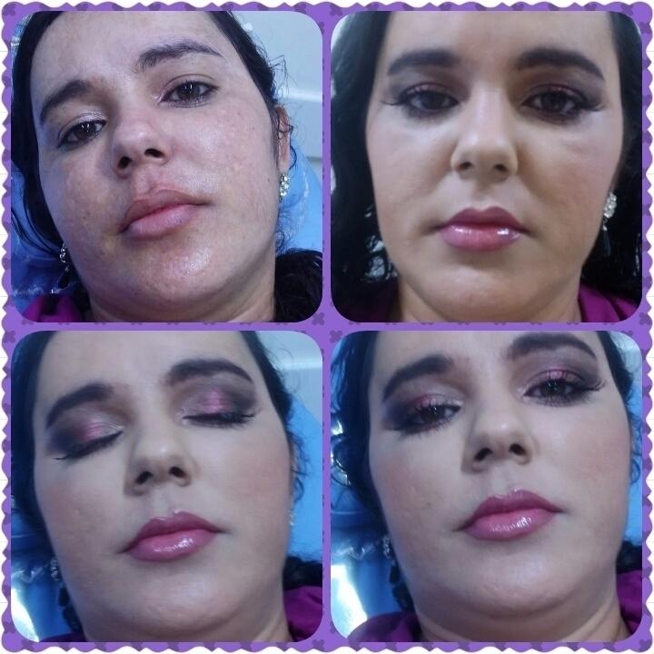 Make social maquiagem esteticista depilador(a) maquiador(a) cabeleireiro(a)