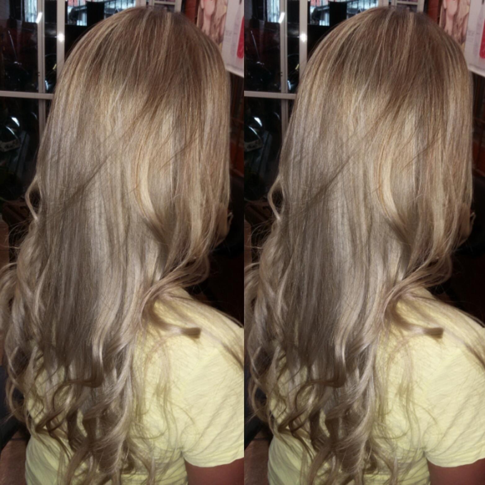 Correção  de cor luzes cabelos perfeitos  e saudaveis cabeleireiro(a)