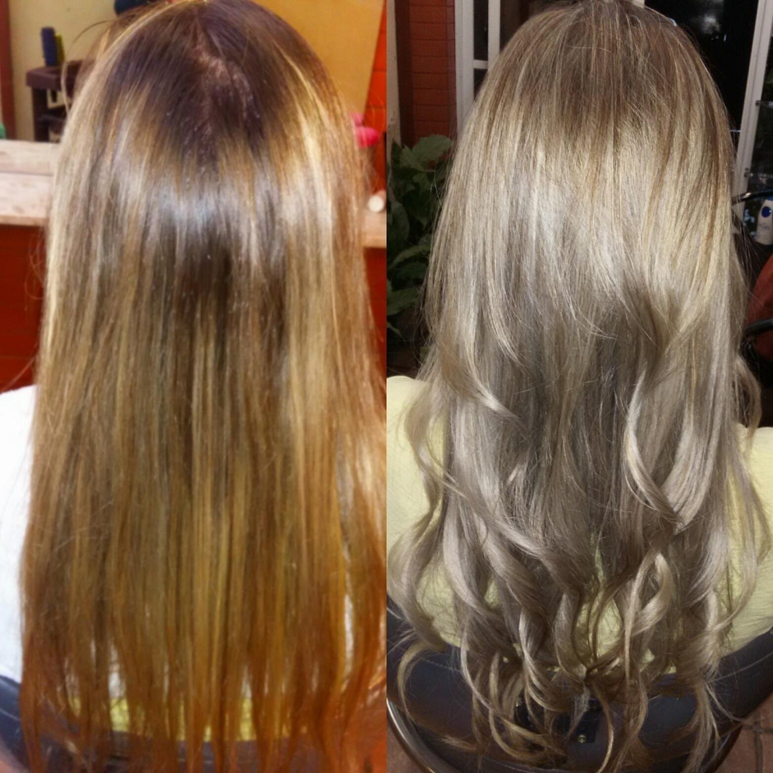 Louro pérola blond  perfeito cabeleireiro(a)