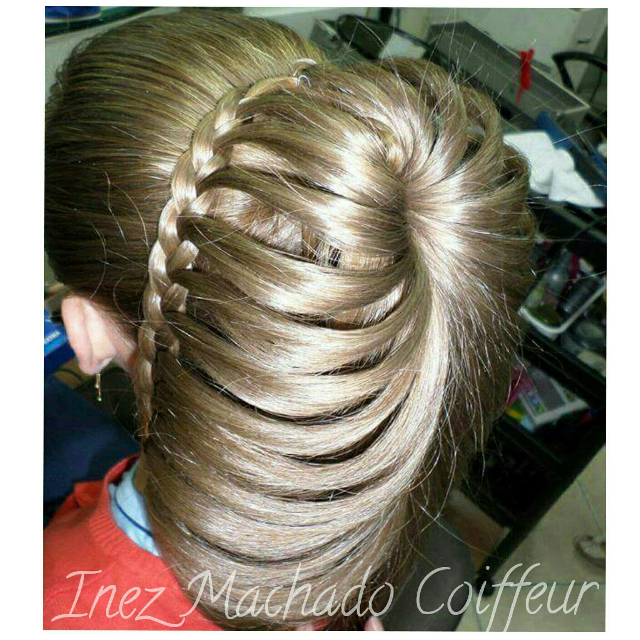 Costela de Adão. Trança penteado para formanda, madrinhas e noiva. cabelo cabeleireiro(a) stylist / visagista