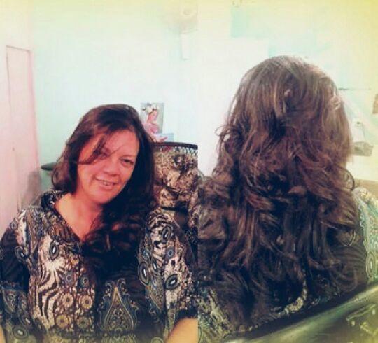 Coloração cabelo cabeleireiro(a)