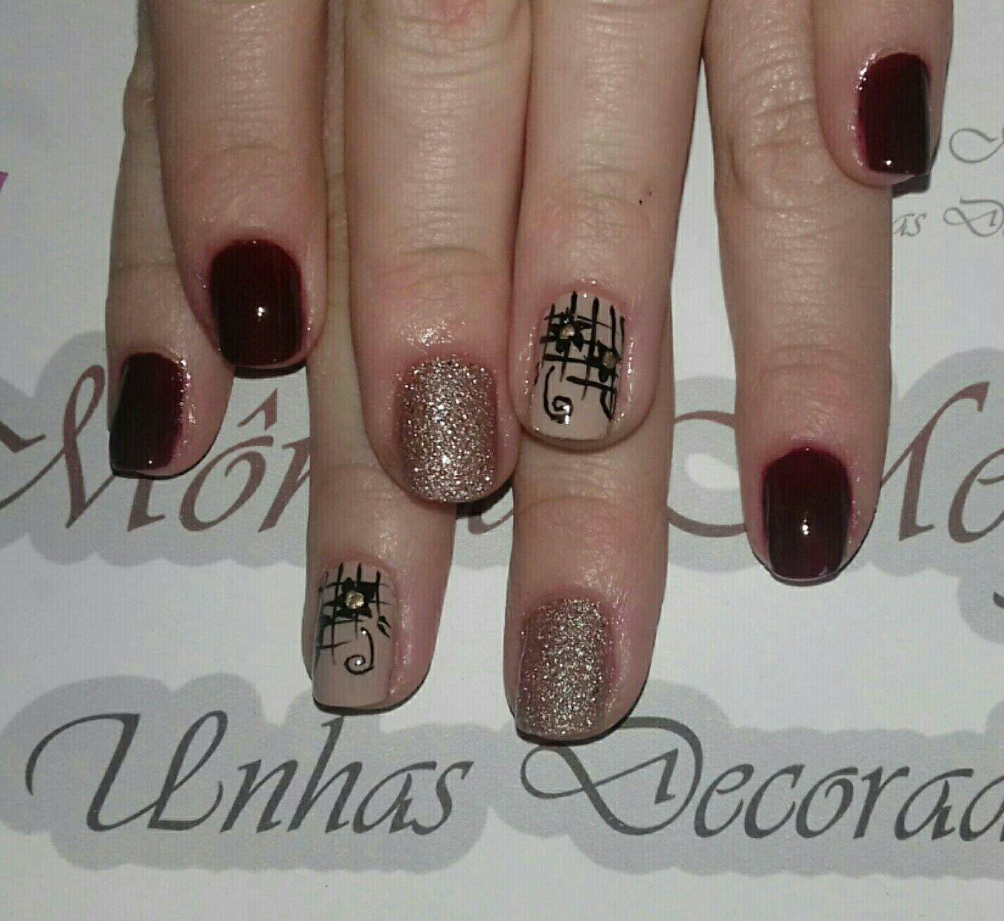 Avon Crystal. Desenho artesanal. unha manicure e pedicure manicure e pedicure