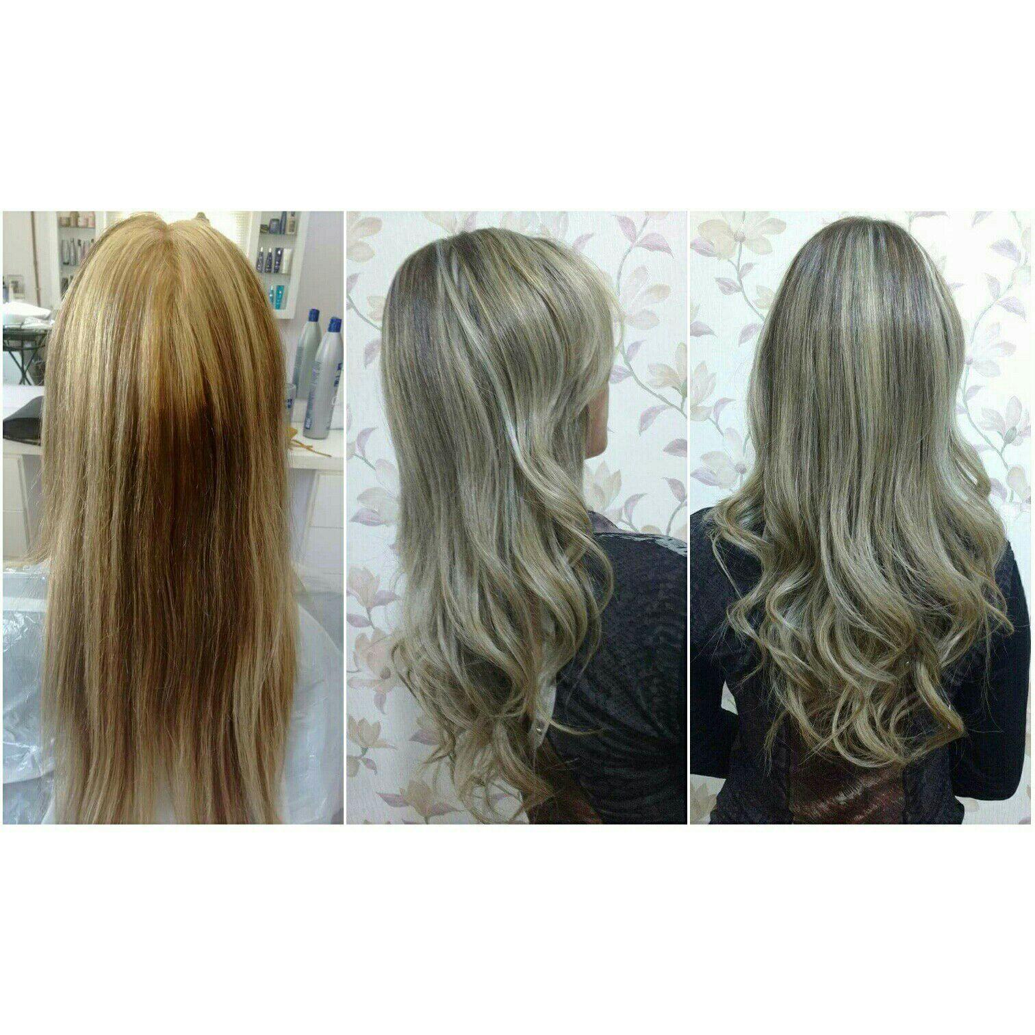#Correção de cor finalizado com Oyster Mediterrani cabelo cabeleireiro(a)