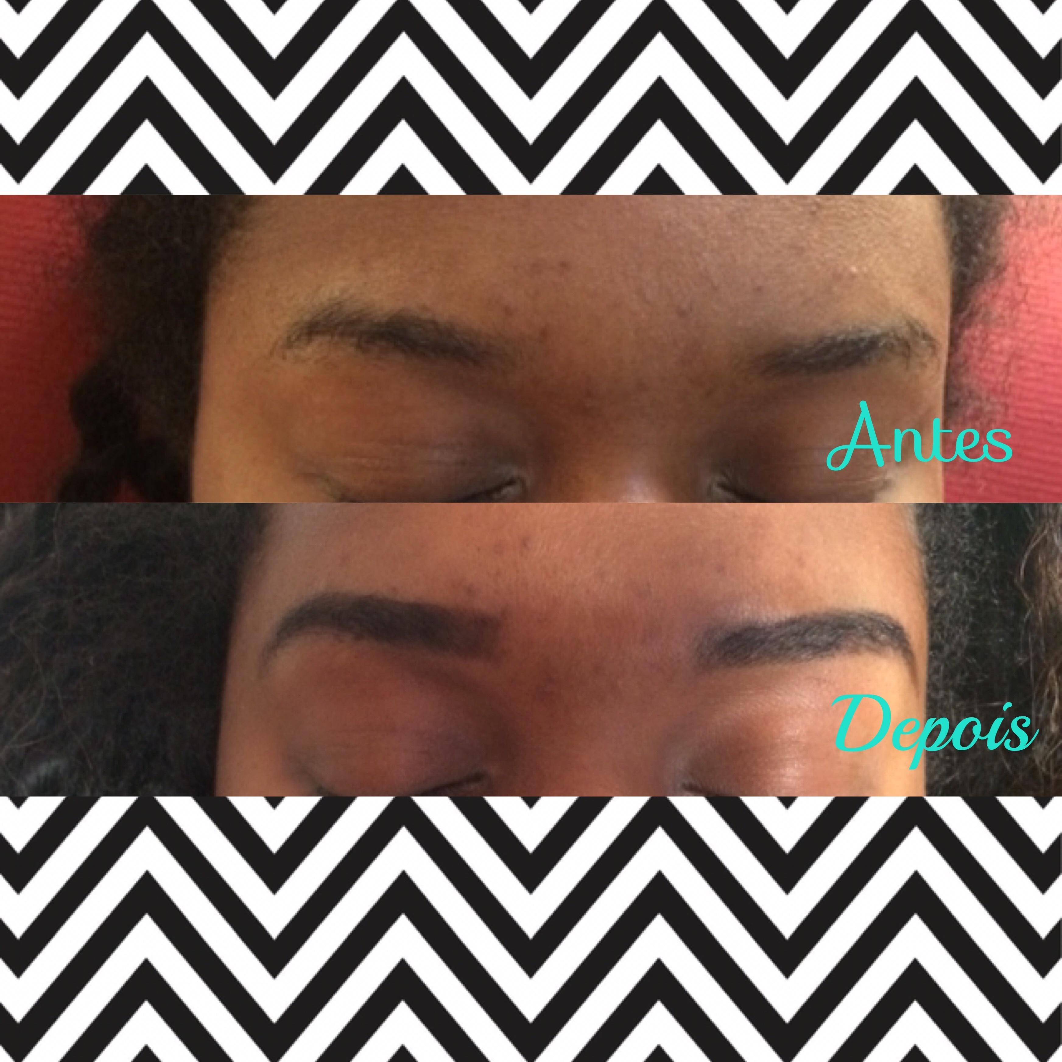 Design de sobrancelhas com henna ! estética maquiador(a)