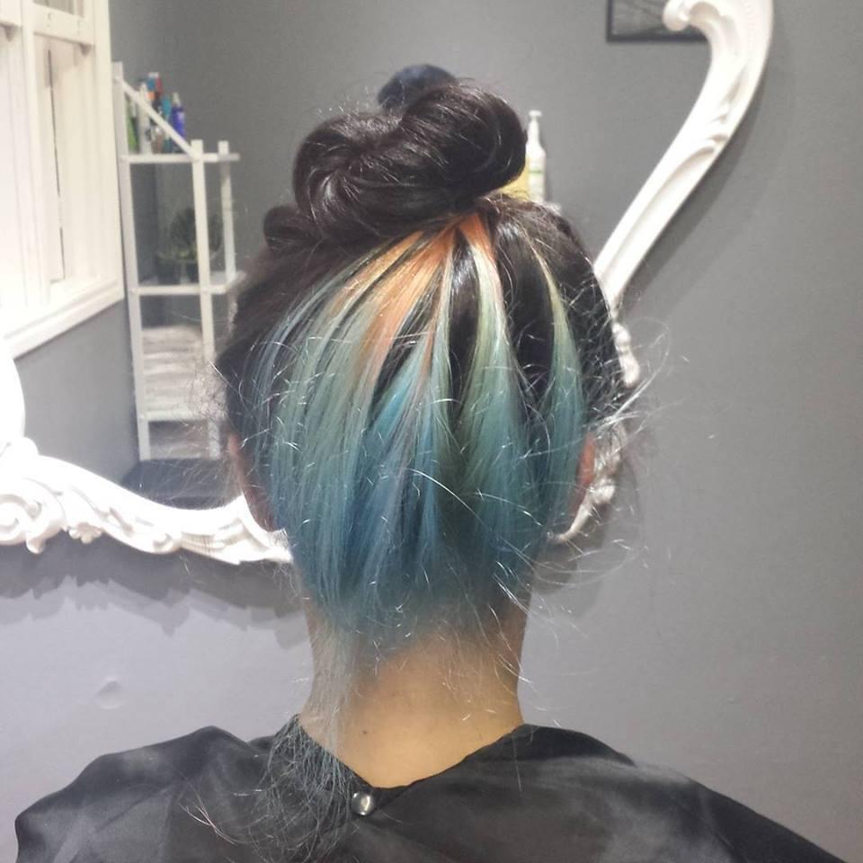 #corfantasia cabelo cabeleireiro(a) maquiador(a) designer de sobrancelhas